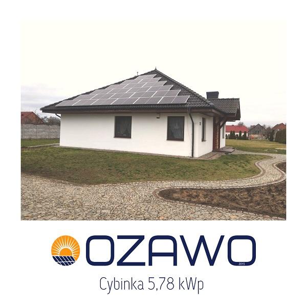 Cybinka 5,78 kWp