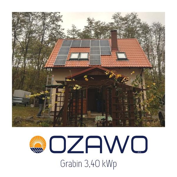 Grabin 3,40 kWp