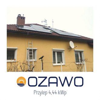 Przylep 4,44 kWp
