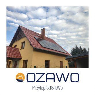 Zielona Góra – Przylep 5,18 kWp
