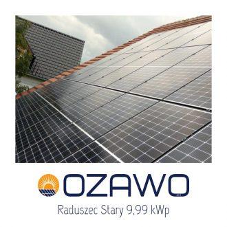 Raduszec Stary 9,99 kWp