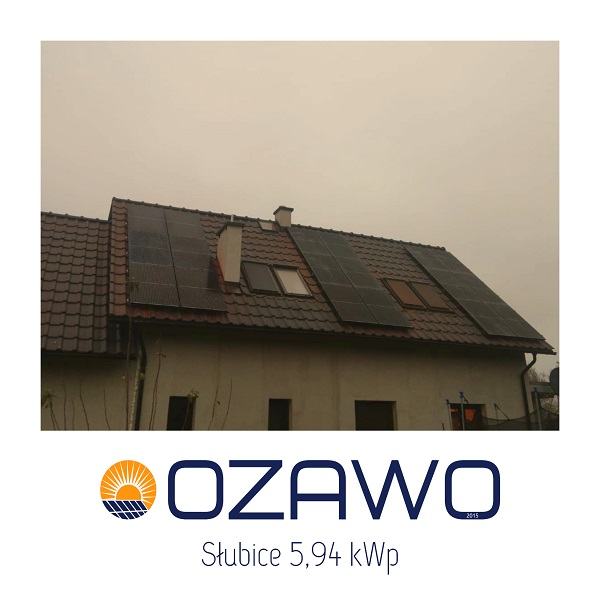 Słubice 5,94 kWp