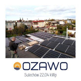 Sulechów 22,04 kWp