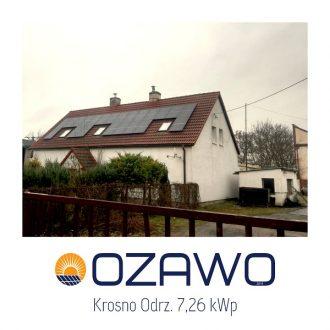 Krosno Odrz. 7,26 kWp