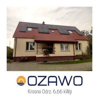 Krosno Odrz. 6,66 kWp