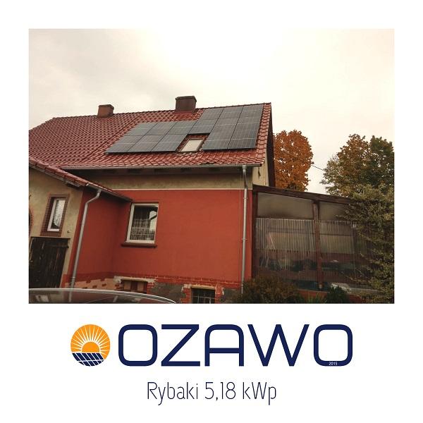 Rybaki 5,18 kWp