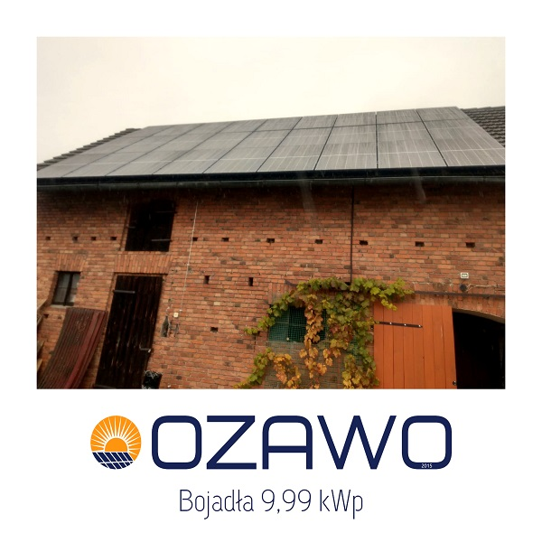 Bojadła 9,99 kWp