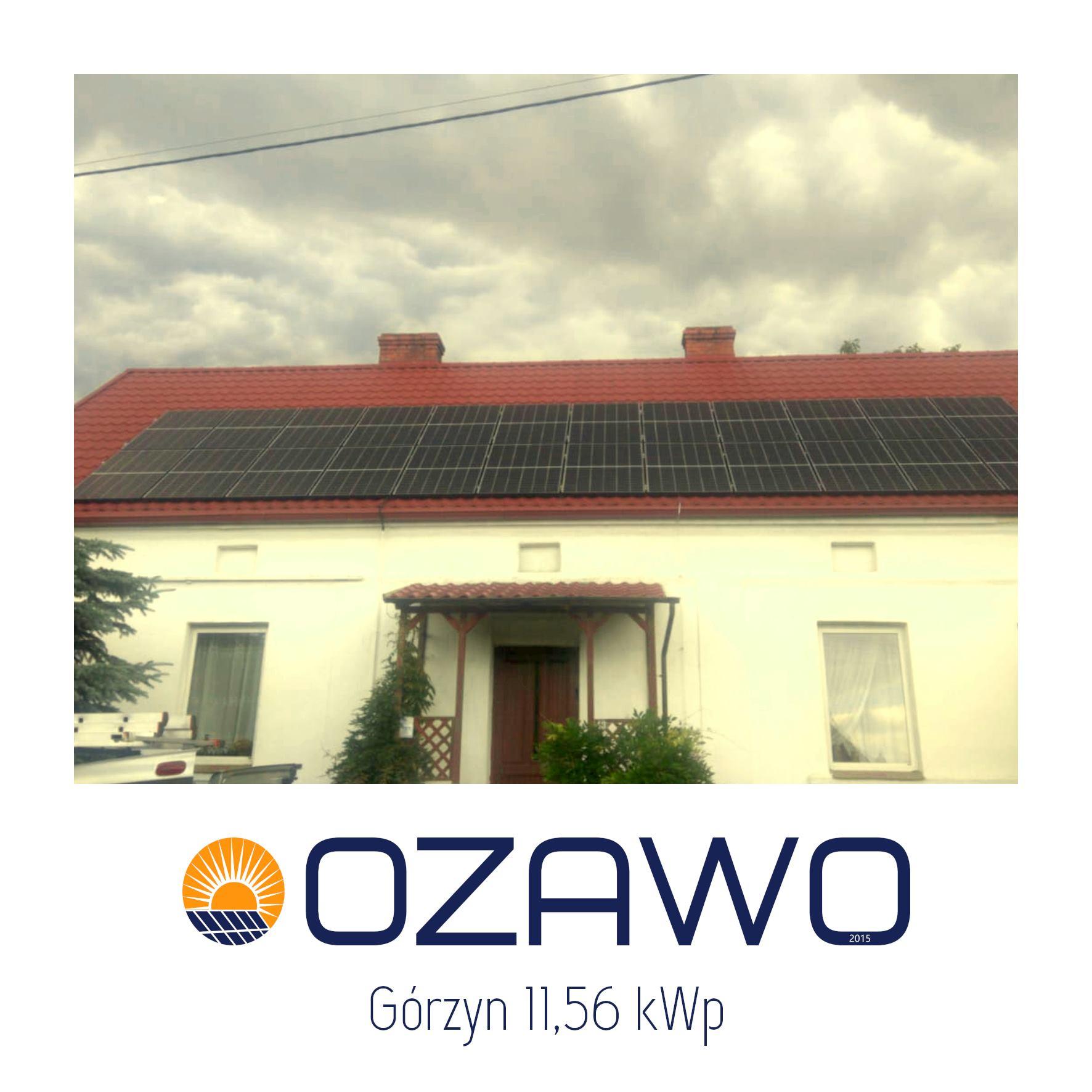 Górzyn 11,56 kWp