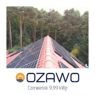 Czerwieńsk 9,99 kWp