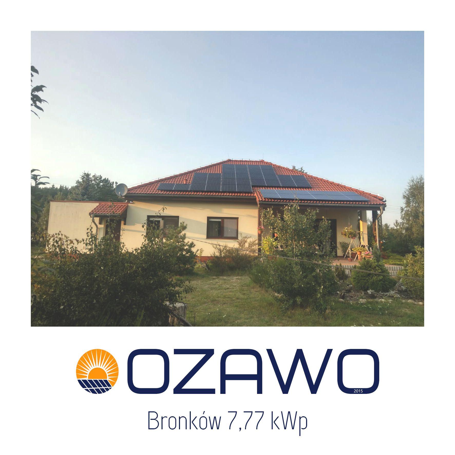 Bronków 7,77 kWp