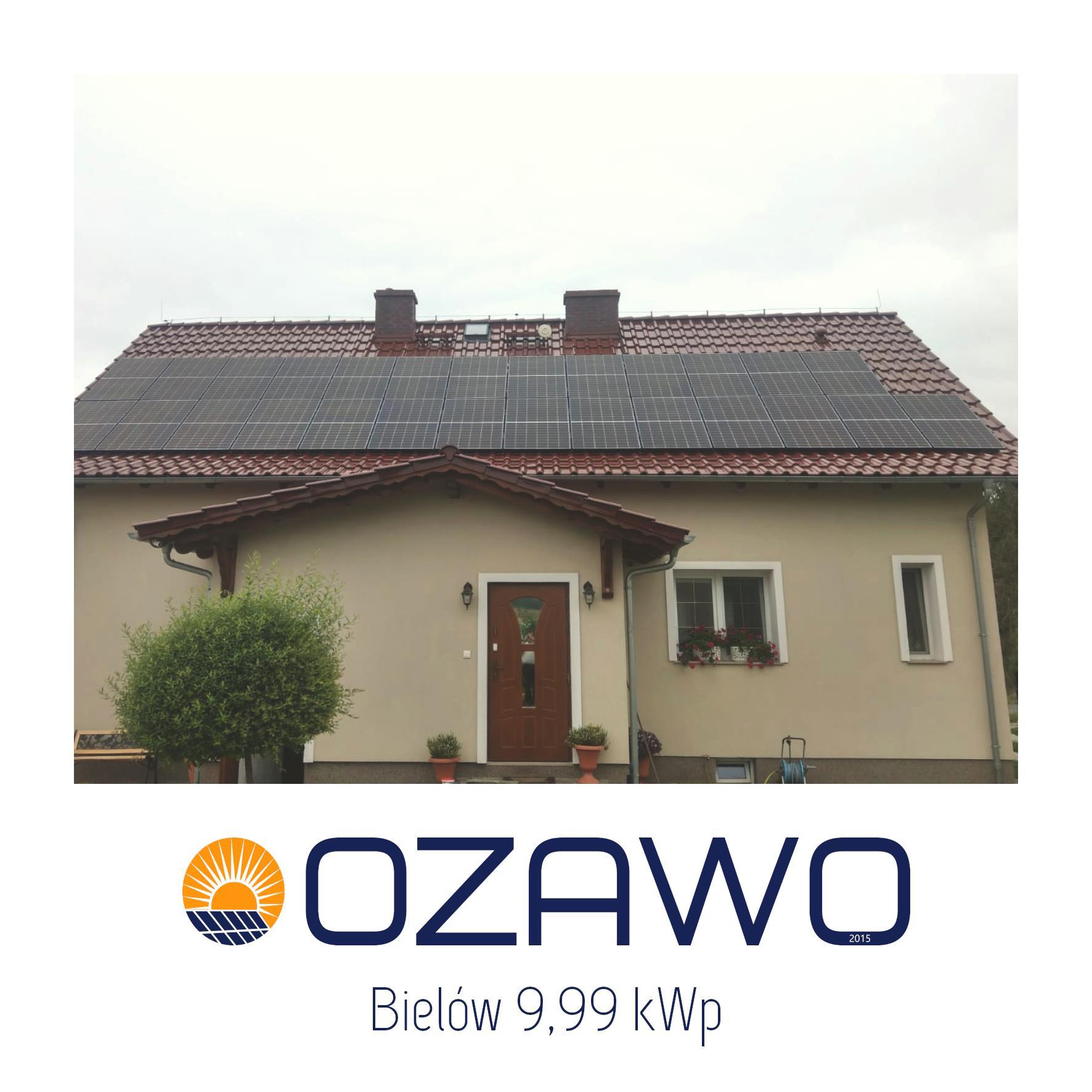 Bielów 9,99 kWp
